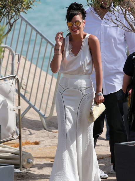 Lilly Allen Cannes 2014