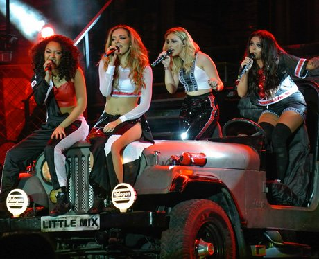 Little Mix perform in Birmingham on their 'Salute' tour