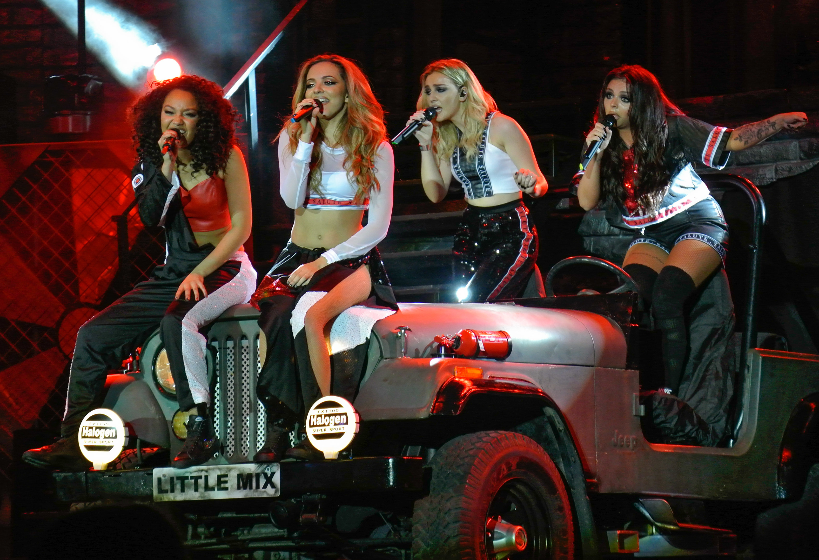 Little Mix 'Salute' Tour 2014