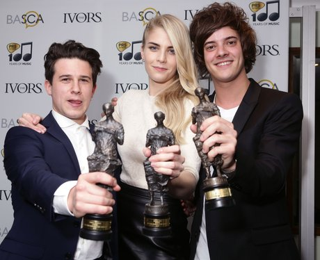 London Grammar Ivor Novello Awards 2014