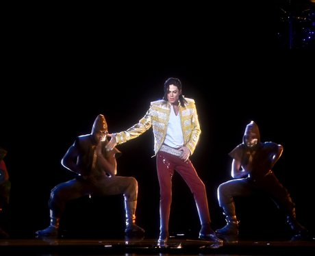 Micheal Jackson Hologram