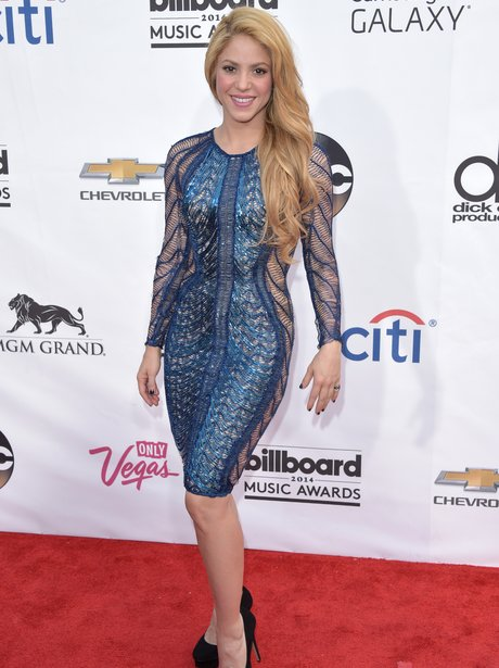 Shakira at the Billboard Music Awards 2014