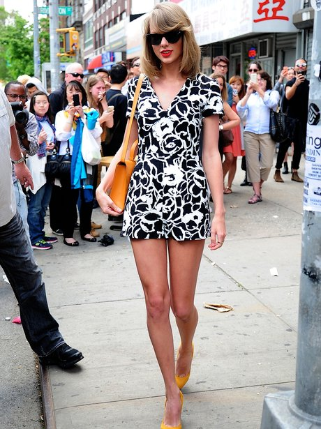 Taylor Swift Monochrome Playsuit