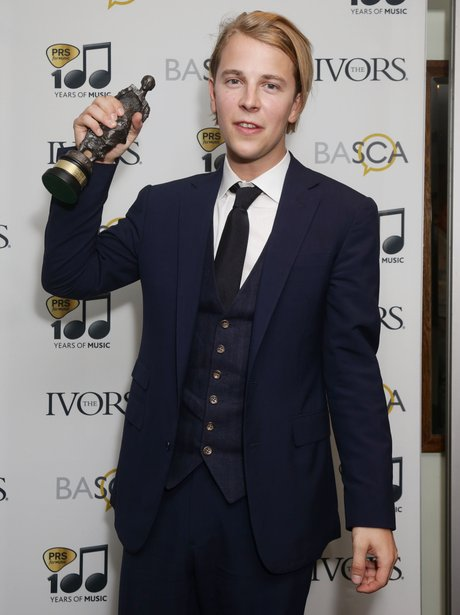 Tom Odell Ivor Novello Awards 2014