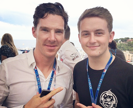 Disclosure Howard Lawrence with Benedict Cumberbatch