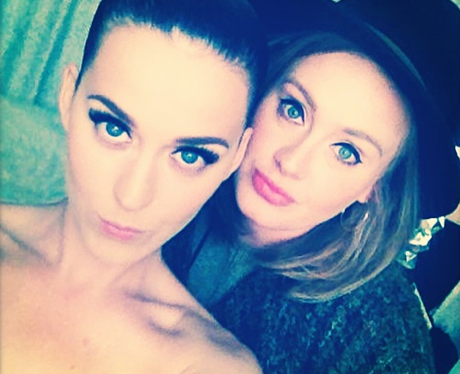 Katy Perry and Adele pouting