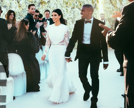 Kim Kardashian Wedding Dress