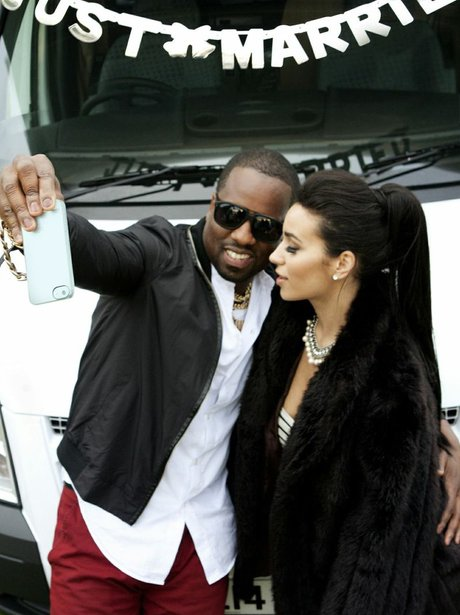 Kim Kardashian and Kanye Honeymoon Spoof Pictures