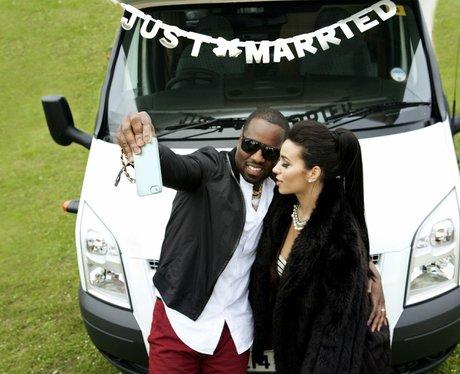 Kim Kardashian and Kanye Honeymoon Spoof Pictures