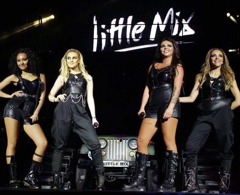 Little Mix perform on Salute tour