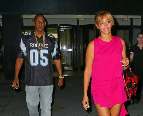 Beyonce and Jay Z out together in New York