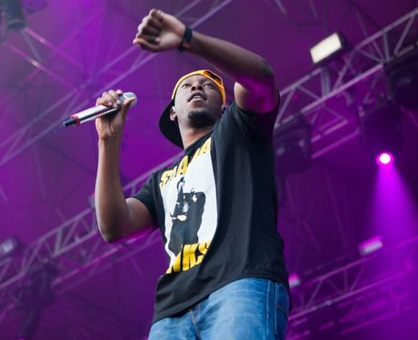 Dizzee at Chester Rocks