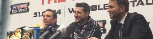 FROCH WEMBLEY PRESS