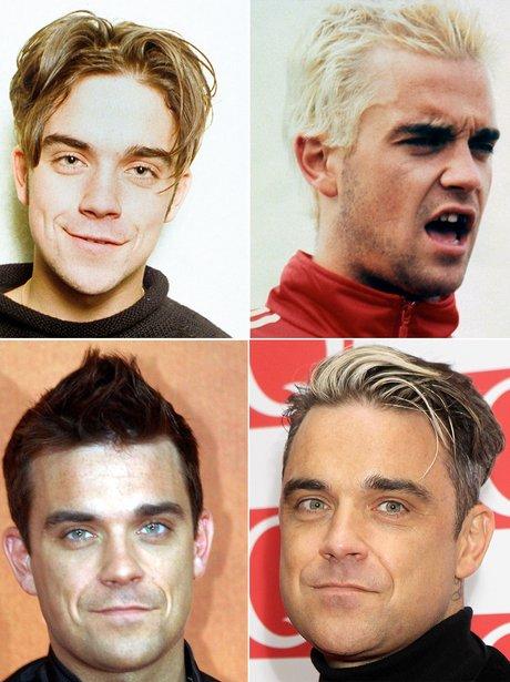 Robbie Williams Hair