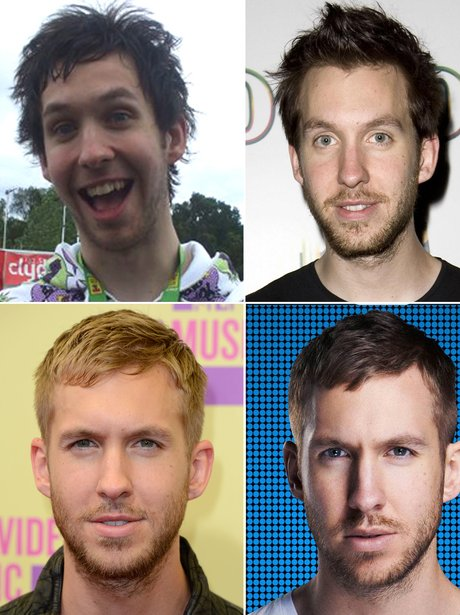 Calvin Harris Hair
