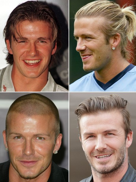Did You Know That Back In The 90s David Beckham Often Had Longer Hair Than His Wife Victoria