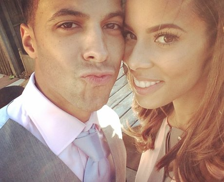 Marvin and Rochelle Humes on instagram