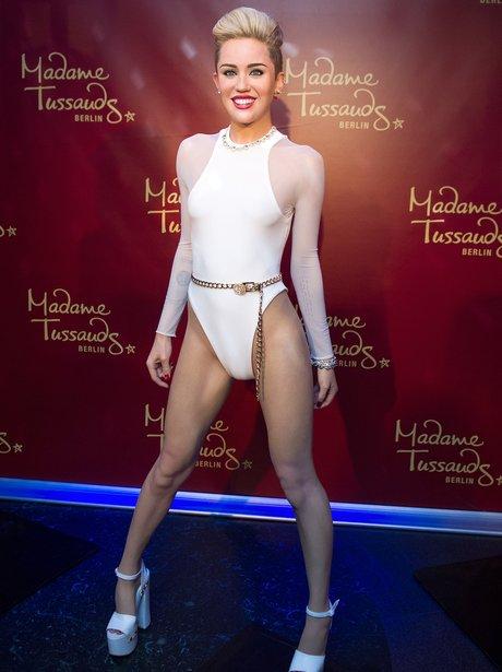 Miley Cyrus waxwork 2014