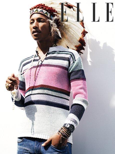 Pharrell Williams Elle Magazine Collector Edition