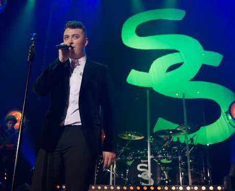 Sam Smith live at the Roundhouse in London