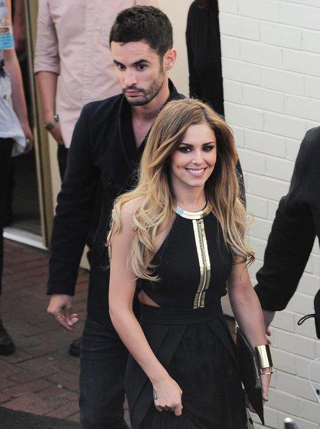 Cheryl Cole with her rumoured new boyfriend