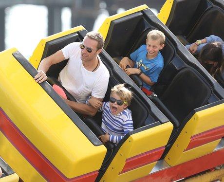 Chris Martin and Kids