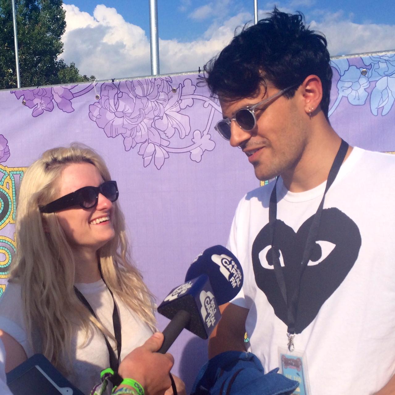 Clean Bandit at Isle of Wight Festival 2014