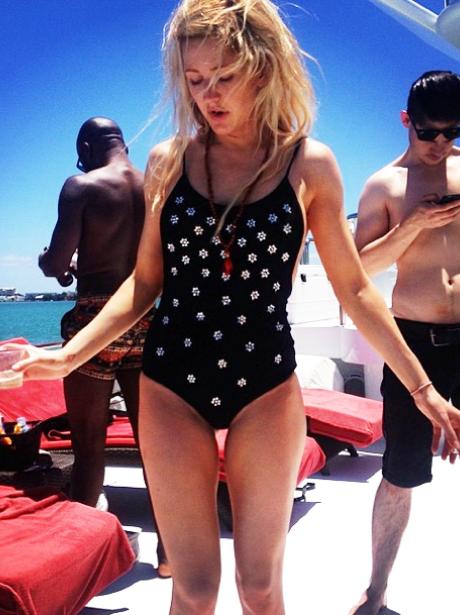 Ellie Goulding Swimming Costume