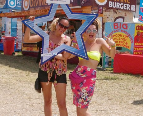 Festival Fashion at the Isle Of Wight Festival 201