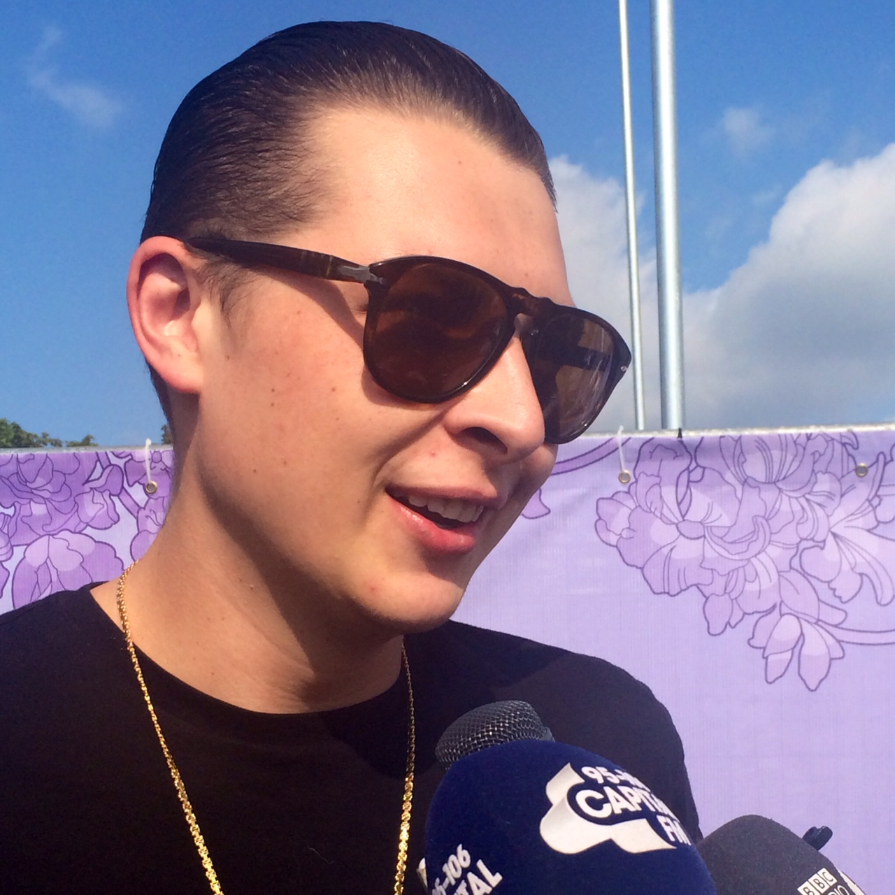 John Newman at the Isle of Wight Festival 2014