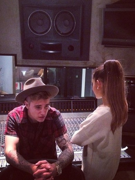 Justin Bieber And Ariana Grande Instagram