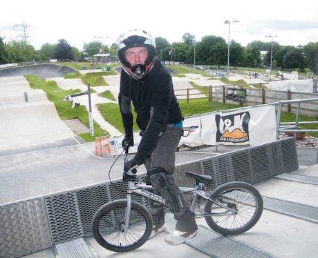 Justin Walker At The UEC European BMX Championship