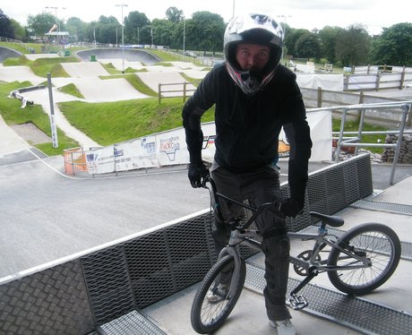 Justin Walker At The UEC European BMX Championship
