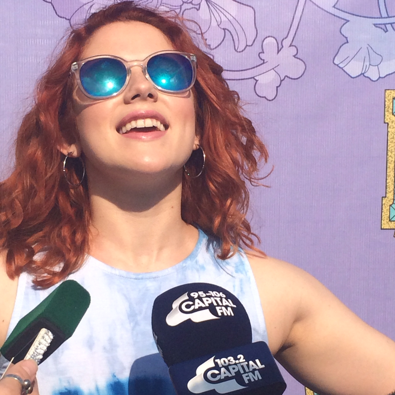Katy B at the Isle of Wight Festival 2014