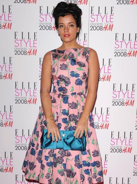 Lily Allen ELLE Awards 2008
