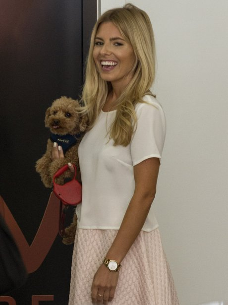 Mollie King and her dog