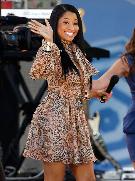 Nicki Minaj performs on TV