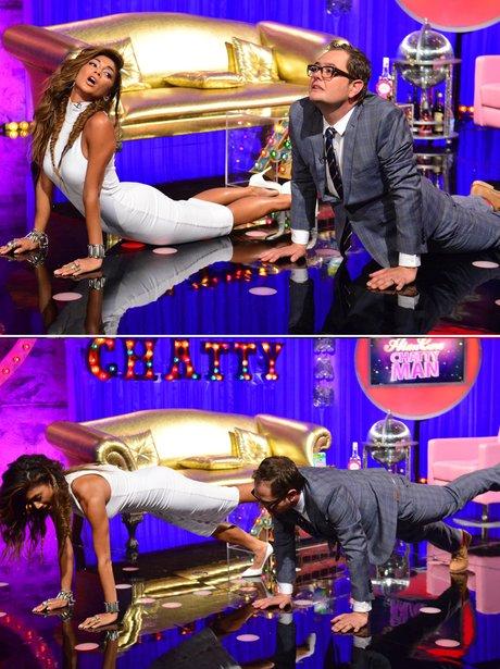 Nicole Scherzinger Alan Carr Yoga