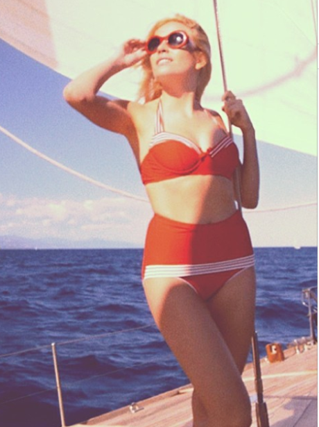 Pixie Lott in a bikini