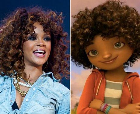 Rihanna Home Movie Cameo