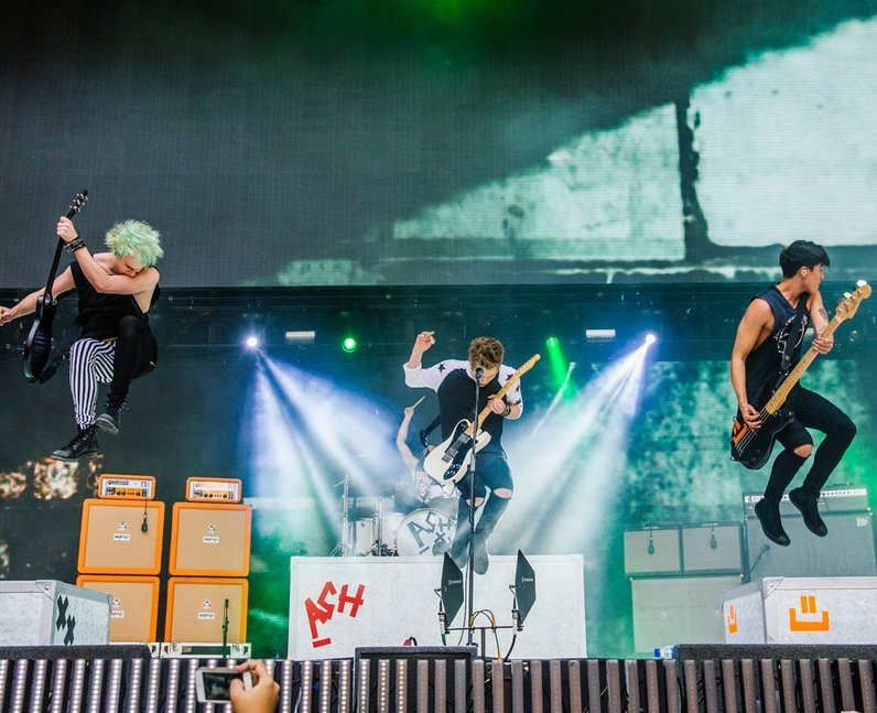 5SOS live at the Summertime Ball 2014