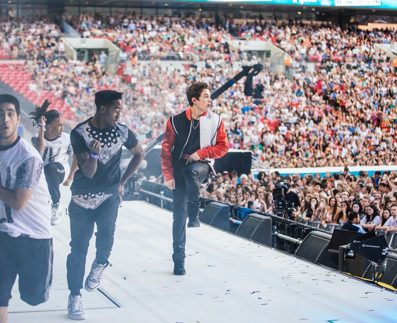 Austin Mahone live at the Summertime Ball 2014