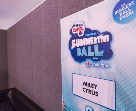 Backstage at the Summertime Ball 2014
