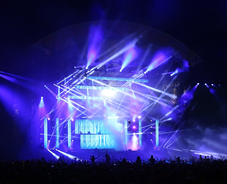 Calvin Harris Isle Of Wight Festival 2014