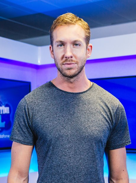 Calvin Harris backstage at the Summertime Ball 201