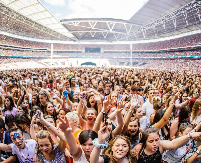 Calvin Harris live at the Summertime Ball 2014