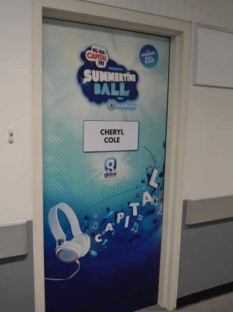 Capital Summertime Ball Backstage - Dressing Room