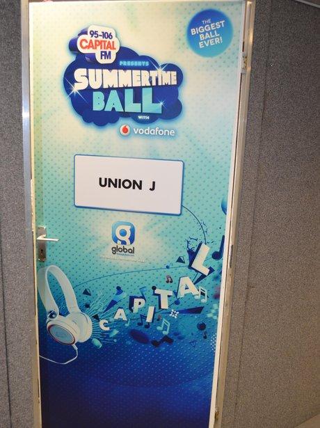 Capital Summertime Ball Backstage - Dressing Room