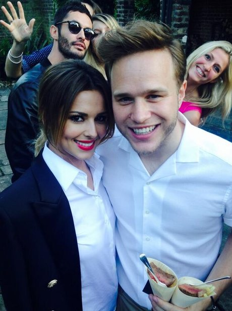 Cheryl Cole and Olly Murs
