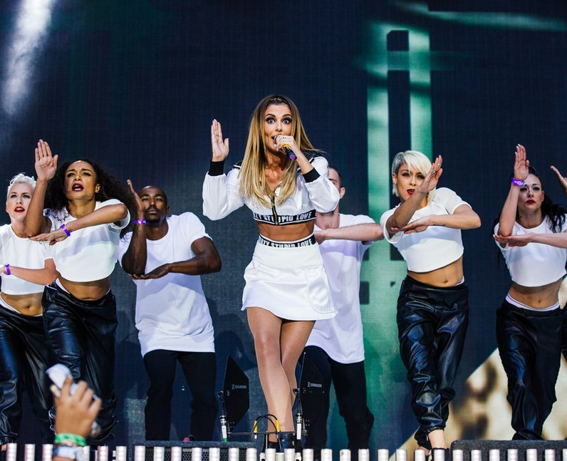 Cheryl Cole live at the Summertime Ball 2014